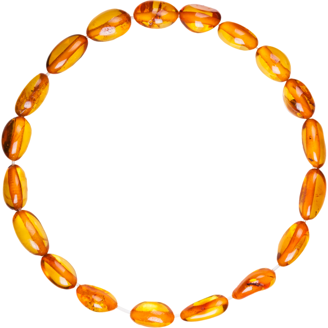 COGNAC BEANS STYLE POLISHED