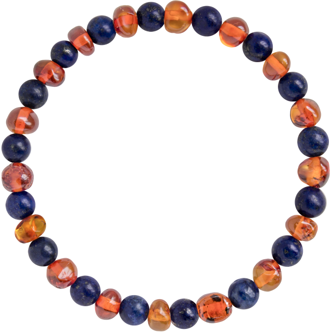 COGNAC WITH LAPIS LAZULI GEMSTONES POLISHED