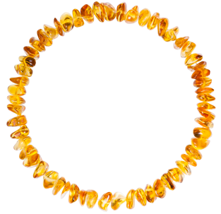 BALTIC AMBER ADULT BRACELET HONEY NUGGETS STYLE POLISHED