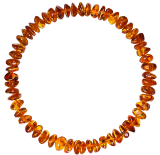 BALTIC AMBER ADULT BRACELET COGNAC NUGGETS STYLE POLISHED