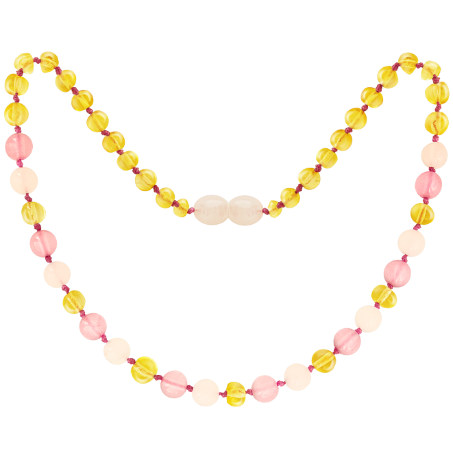 LEMON/ROSE QUARTZ/PINK JADE GEMSTONES POLISHED