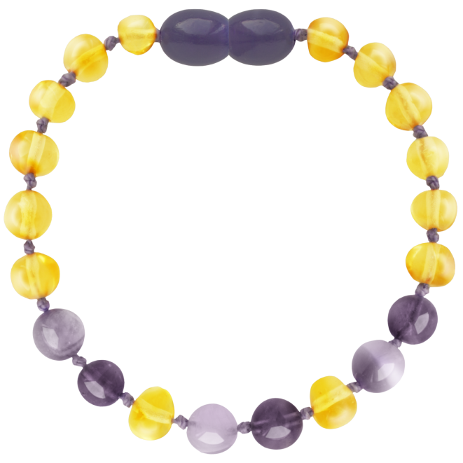 LEMON/AMETHYST/JADE BAROQUE STYLE POLISHED